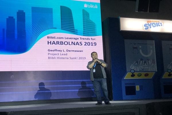 Project Lead Blibli Histeria Syok! 2019 Geoffrey L. Dermawan - Bisnis/Leo Dwi Jatmiko