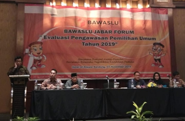 Badan Pengawas Pemilu (Bawaslu) Jawa Barat mewanti-wanti petahana yang akan maju di Pilkada Serentak 2020 mendatang untuk tidak memanfaatkan birokrasi. - Bisnis/Wisnu Wage