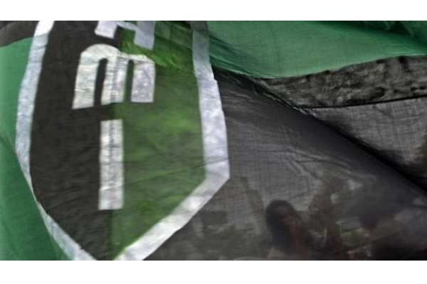 Bendera Himpunan Mahasiswa Islam. - Antara/Sahrul Manda Tikupadang