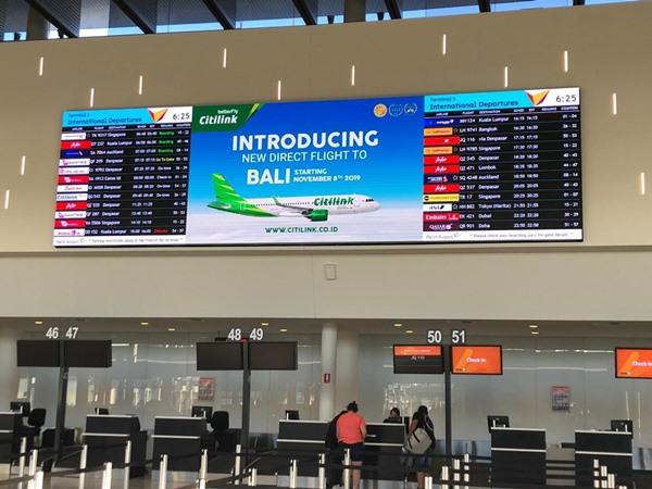 Pengumuman pembukaan rute baru Citilink di Bandara I Gusti Ngurah Rai Bali. BISNIS - Citilink