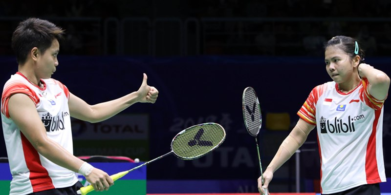 Greysia Polii dan Apriyani Rahayu - badmintonindonesia.org