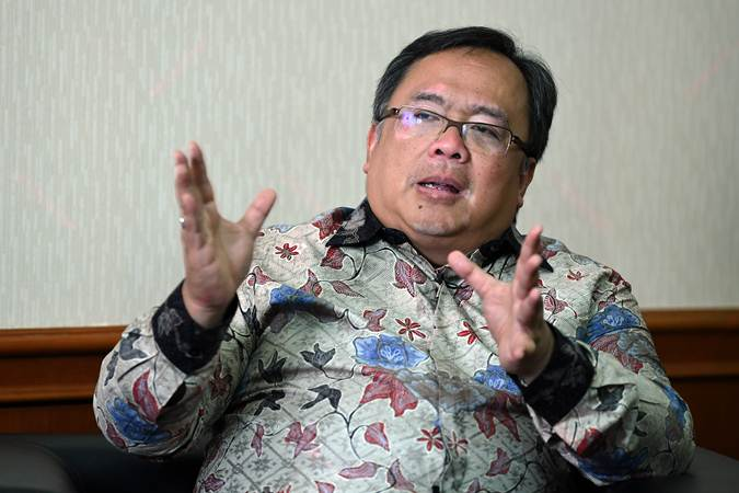 Menristek Bambang Brodjonegoro - ANTARA/Wahyu Putro A