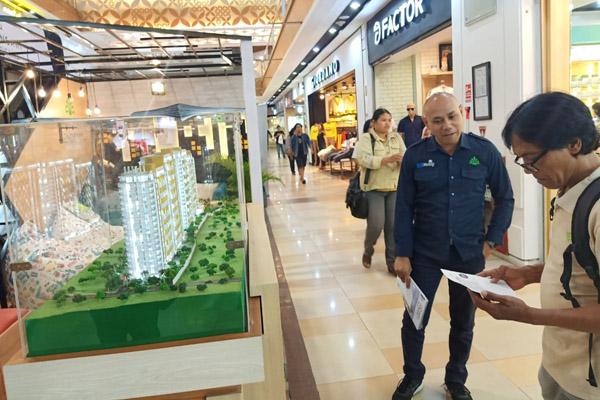 Suasana pameran Property Expo Semarang ke-7 yang diselenggarakan di Atrium Mal Ciputra Semarang. Foto diambil Kamis 10 Oktober 2019. - Bisnis/Alif Nazzala Rizqi