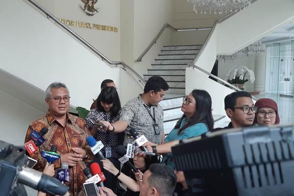 Ketua Komisi Pemilihan Umum Arief Budiman KPU - Bisnis/Anggara Pernando