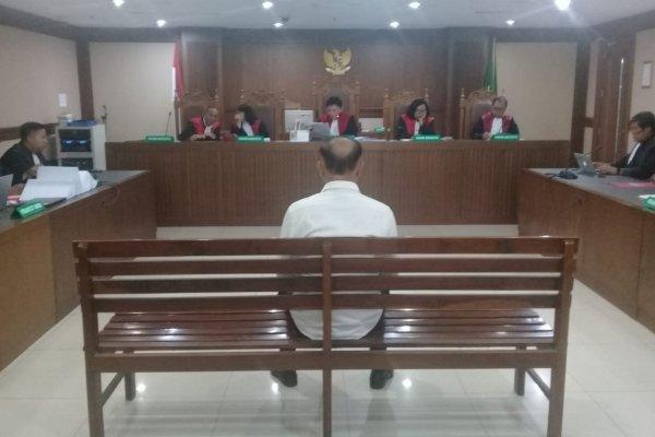 Mantan anggota Badan Anggaran DPR Markus Nari menjalani sidang pembacaan vonis - Bisnis/Ilham Budhiman
