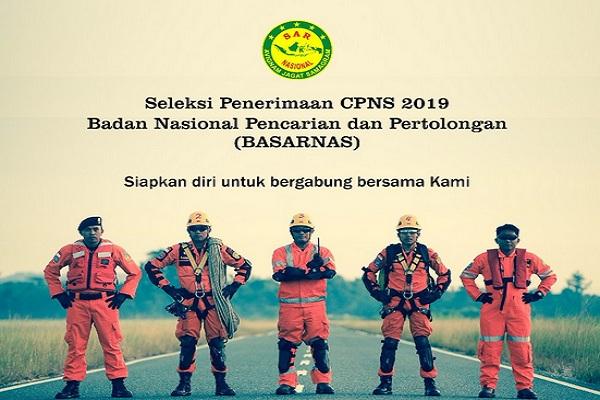 Basarnas membuka lowongan CPNS untuk tahun 2019. - Twitter @SAR_NASIONAL