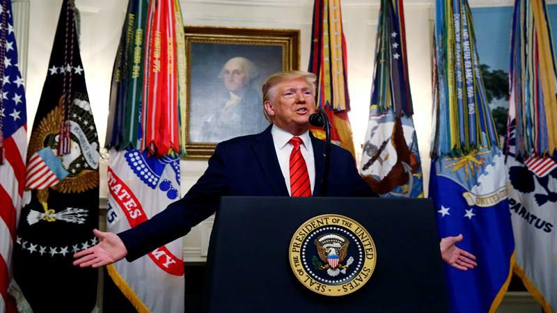 Presiden Amerika Serikat Donald Trump - Reuters
