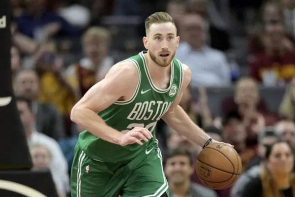 Forward Boston Celtics Gordon Hayward - Reuters