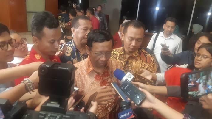 Menko Polhukam Mahfud MD - Bisnis/Jaffry Prabu Prakoso