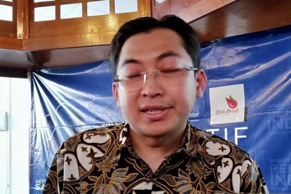 Juru bicara Partai Keadilan Sejahtera Ahmad Fathul Bari ditemui di kawasan Kebon Sirih, Jakarta. - Antara
