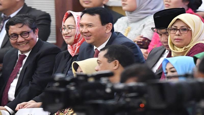 Mantan Gubernur DKI Jakarta Basuki Tjahaja Purnama. - Antara