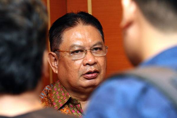 Direktur Utama PT Taspen Iqbal Latanro. - JIBI/Dedi Gunawan