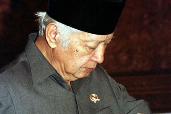 Presiden kedua RI Soeharto - Reuters