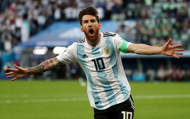 Striker Argentina Lionel Messi - Reuters