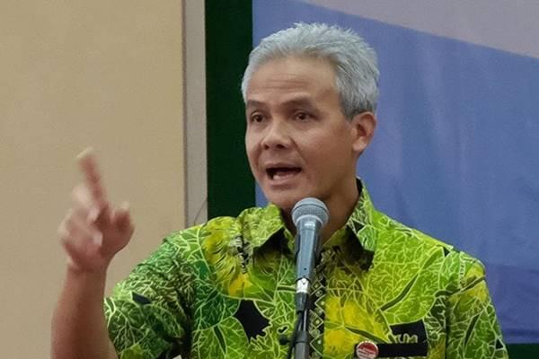 Gubernur Jawa Tengah Ganjar Pranowo terpilih lagi sebagai Ketua Umum Keluarga Alumni Universitas Gadjah Mada (UGM) Kagama. - Antara