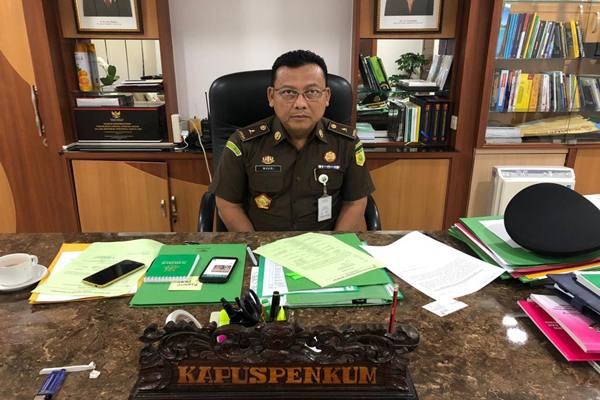 Kepala Pusat Penerangan Hukum Kejaksaan Agung Mukri. JIBI/BISNIS - Sholahuddin Al Ayubi