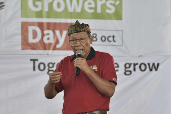 Ketua Asosiasi Petani Tembakau Indonesia (APTI) Soeseno. - Istimewa