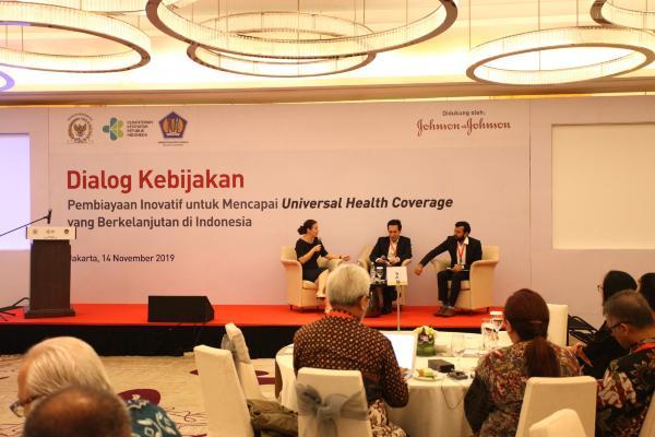 Dialog Kebijakan tentang Pembiayaan Inovatif untuk Mencapai Cakupan Kesehatan Semesta. - Istimewa