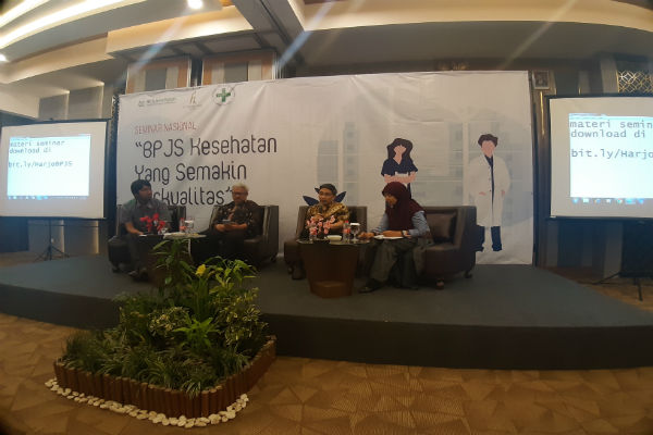 Seminar BPJS Kesehatan yang digelar, Selasa (19/11/2019) di H Boutique Hotel Jogja. - Harian Jogja/Hendi