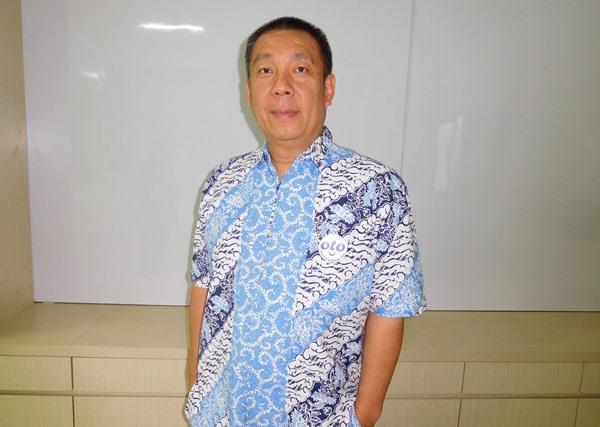 CEO PT Rejeki Putra Putri Eliman Oto Gunasis. BISNIS - Puput Ady Sukarno