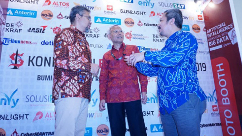 Konferensi Big Data Indonesia 2019 di Surabaya pada Selasa (19/11/2019). - Istimewa