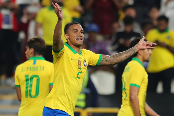Bek Brasil Danilo Luiz da Silva - Reuters/Mahmoud Khaled