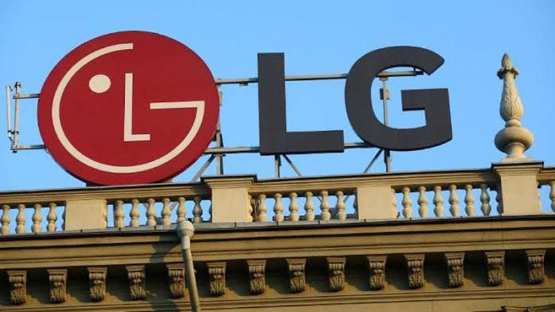 Logo perusahaan Korea Selatan, LG Corporation. - Reuters