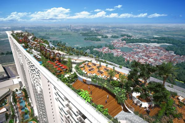 Apartemen Opus Park yang dikembakangkan oleh PT Izumi Sentul Realty. - Bisnis