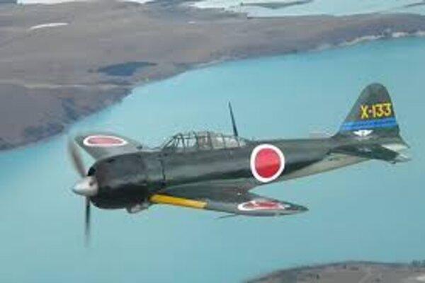 Pesawat Mitsubishi A6M Zero. - Wikipedia