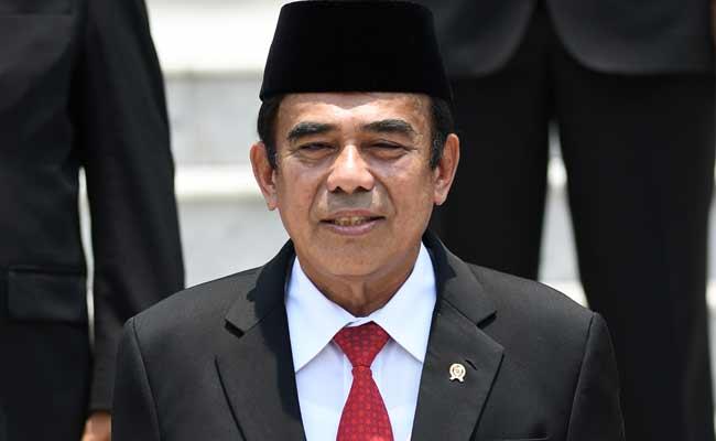 Menteri Agama Fachrul Razi ANTARA FOTO - Wahyu Putro A