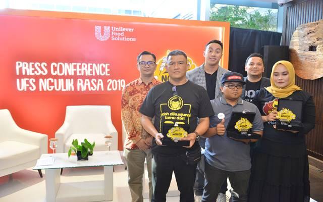 Konferensi pers kompetisi Ngulik Rasa 2019 dari Unilever Food Solutions  -  Istimewa