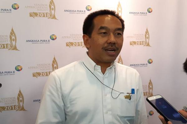 Direktur Utama AP II Muhammad Awaluddin. JIBI/Bisnis - Rio Sandy Pradana