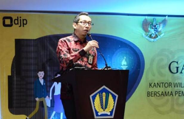 Kepala Kanwil DJP Sumsel Babel, Imam Arifin, memberikan penjelasan terkait perpajakan bagi kalangan pendidikan. - Istimewa