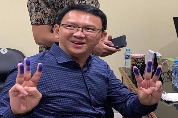 Basuki Tjahaja Purnama (BTP) alias Ahok jelang bebas dari Rutan Mako Brimob, Kamis (24/1) - Instagram @basukibtp