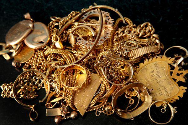 Ilustrasi perhiasan emas - webuy/vegas