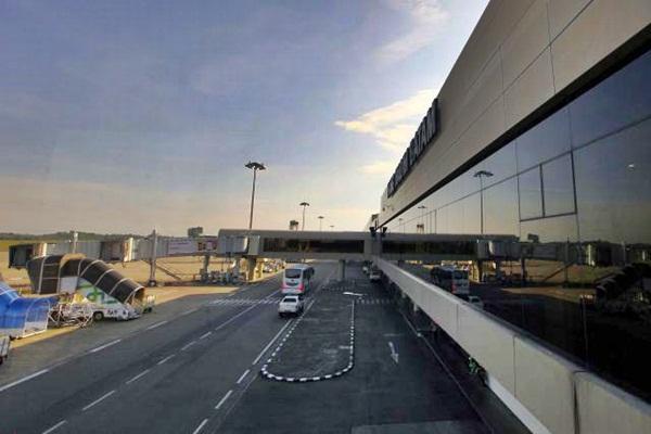 Bandara Hang Nadim, Batam, Kepulauan Riau. - Bisnis/Dwi Prasetya