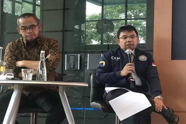 Direktur Potensi, Kepatuhan, Penerimaan Pajak Direktorat Jenderal Pajak Kementerian Keuangan Yon Arsal dalam acara Ngobrol Santai di Jakarta, Senin (25/11/2019).  - Antara