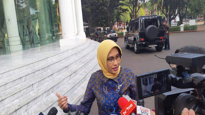 Plt. Direktur Utama PLN Sripeni Inten Cahyani. JIBI/Bisnis - Anggara Pernando