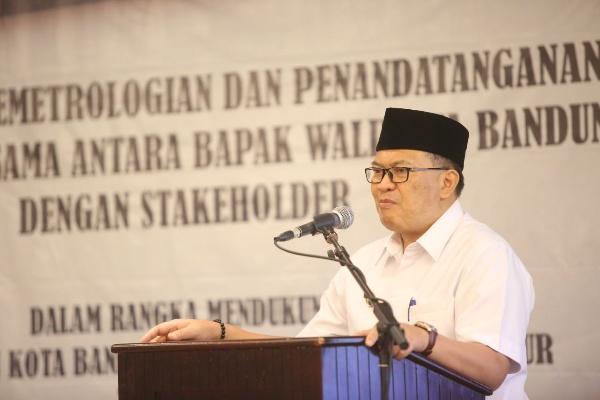 Wali Kota Bandung Oded M Danial - Istimewa
