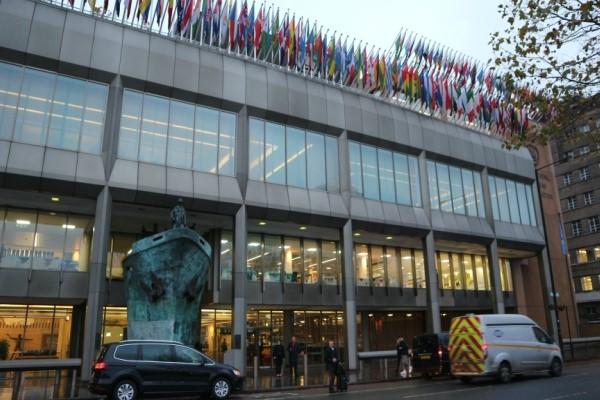 Markas Besar IMO di London Inggris. BISNIS - Ana Noviani