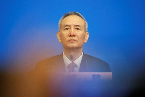 Wakil Perdana Menteri China Liu He - Reuters/Jason Lee