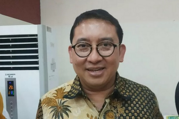 Anggota DPR Fadli Zon, di Jakarta, Sabtu, (23/11/2019). - Antara
