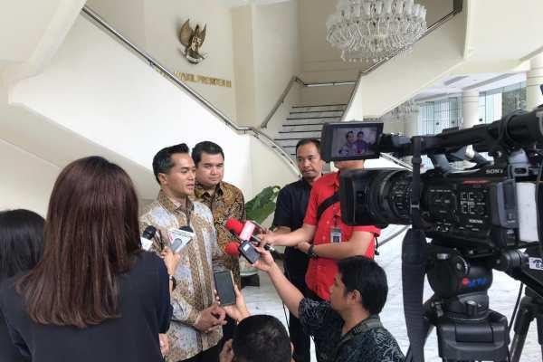 Anindya Bakrie mewakili APEC Business Advisory Council (ABAC) Indonesia menargetkan dapat mengumpulkan pendanaan hingga US30juta dalam ABAC Indonesia Impact Fund (AIF). - Bisnis/Anggara Pernando