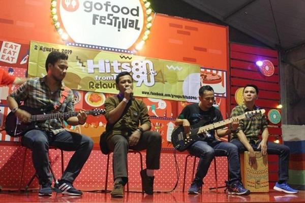 Komunitas Hits 80-90s tampil di GoFood Festival GBK - Istimewa