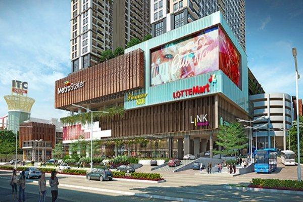 Gambar rencana pengembangan MetroStater Superblock di Kota Depok. - Bisnis