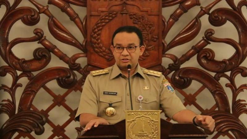 Gubernur DKI Jakarta Anies Baswedan - Antara