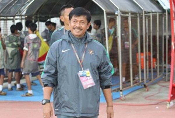 Pelatih Timnas Indonesia U-23, Indra Sjafri - PSSI