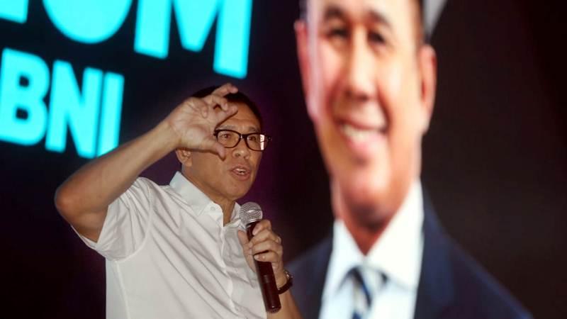 Direktur Utama PT Bank Negara Indonesia Tbk Achmad Baiquni. - Bisnis/Rachman