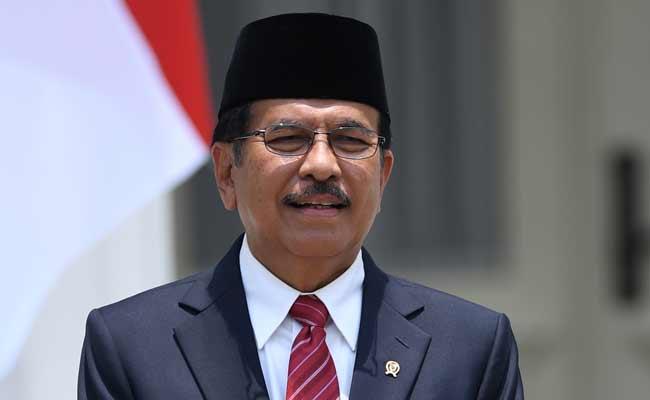 Menteri ATR/Kepala BPN Sofyan Djalil ANTARA FOTO - Wahyu Putro A