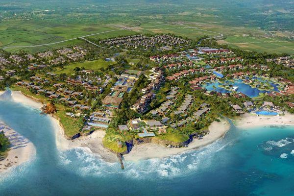 Gambar pengembangan Ciputra Beach Resort di Tabanan Bali. - Bisnis